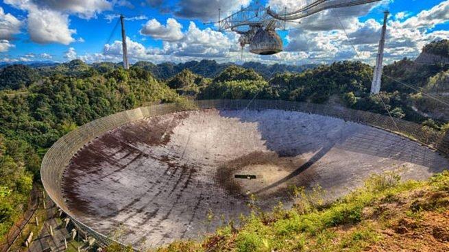 Adiós a Arecibo: el primer radiotelescopio que envió un mensaje al espacio