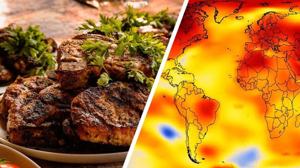 Comer menos carne para salvar el mundo